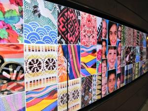 Jaume Plensa's installation at Lurie Children's Hospital