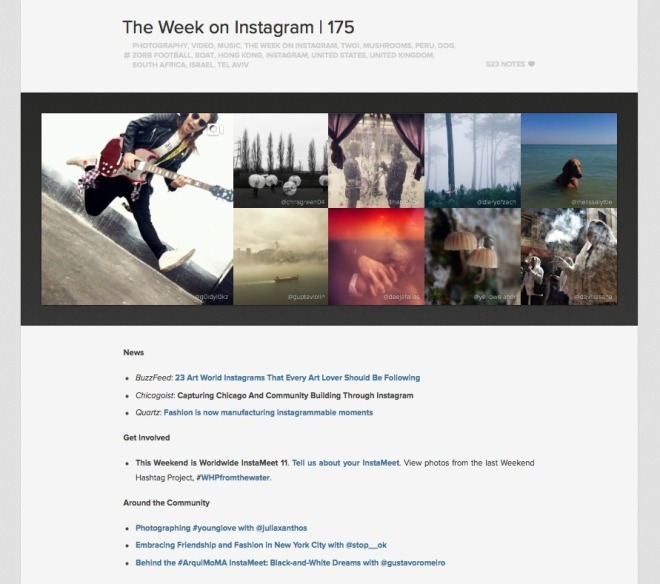 Chicago Photography Article Featured by Instagram